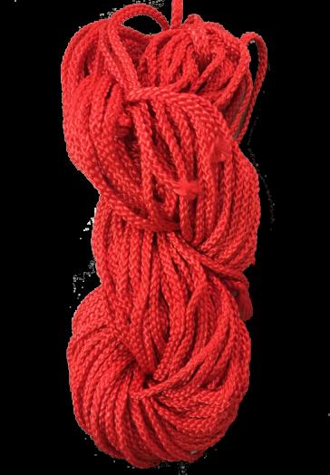 เชือกถักเปีย (สี)